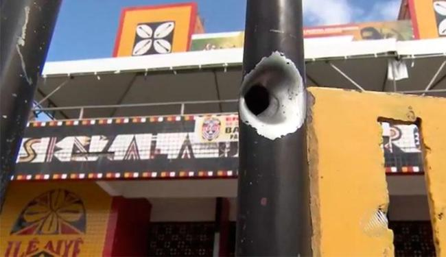 Tiroteio aconteceu durante ensaio do Ilê Aiyê - Foto: Reprodução | TV Bahia