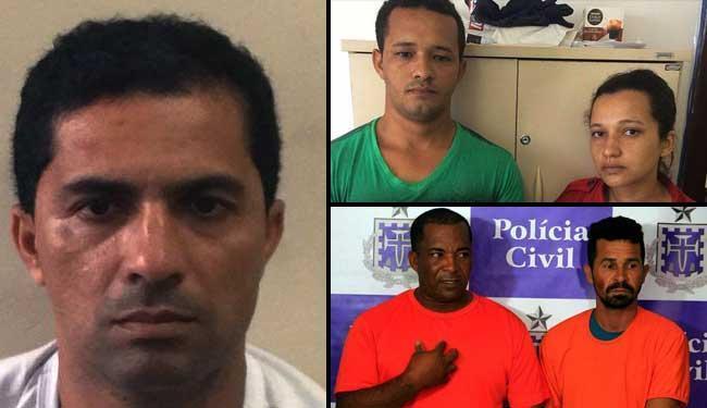 Penas foram de 4 a 15 anos de prisão - Foto: Divulgação | Polícia Militar e Civil