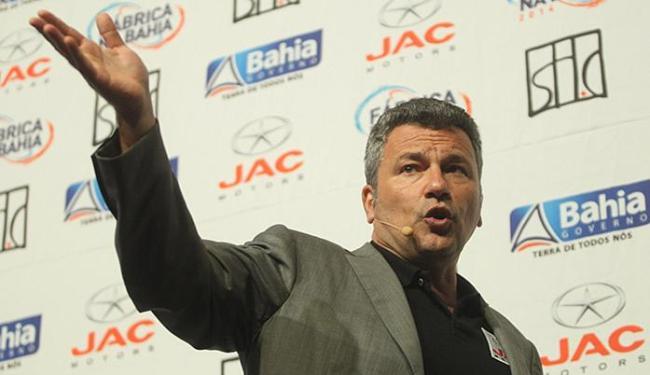 Grupo SHC, do empresário Sérgio Habib, vai produzir 20 mil carros por ano - Foto: Lúcio Távora l Ag. A TARDE l 16.11.2011