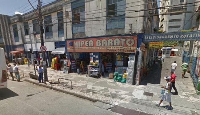 A vítima teve um desentendimento com um homem desconhecido dentro de um bar na Sete Portas - Foto: Google Maps