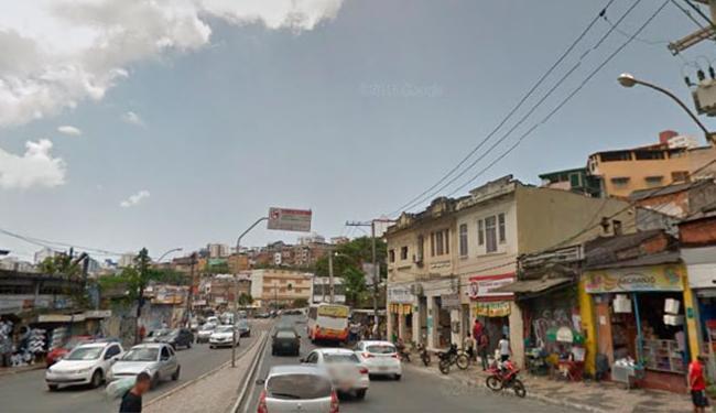 Acidente aconteceu na Sete Portas, na madrugada desta quinta-feira, 4 - Foto: Reprodução | Google Maps