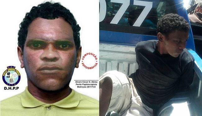 Boato começou na sexta, 26, após prisão de homem semelhante àquele do retrato falado da polícia - Foto: Montagem | Ag. A TARDE