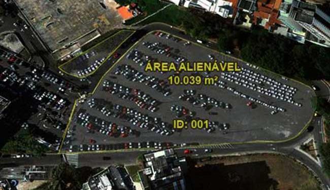 Imóvel funciona atualmente como estacionamento - Foto: Divulgação   Prefeitura