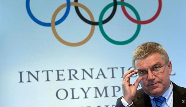 Bach garantiu que o COI tem confiança nas ações tomadas pelas autoridades brasileiras em combate ao - Foto: Denis Balibouse   Reuters