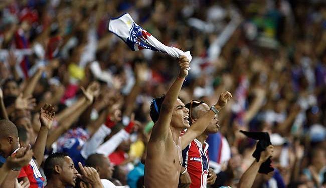 Tricolor vai estrear diante de sua torcida na Fonte Nova - Foto: Raul Spinassé | Ag. A TARDE 04.05.2014