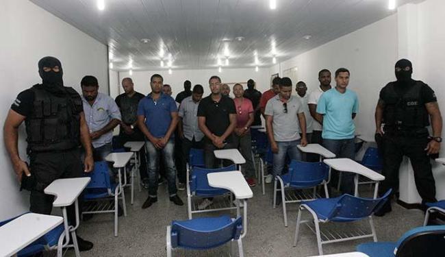 Grupo foi preso em operação relâmpago nesta terça-feira - Foto: Margarida Neide   Ag. A TARDE