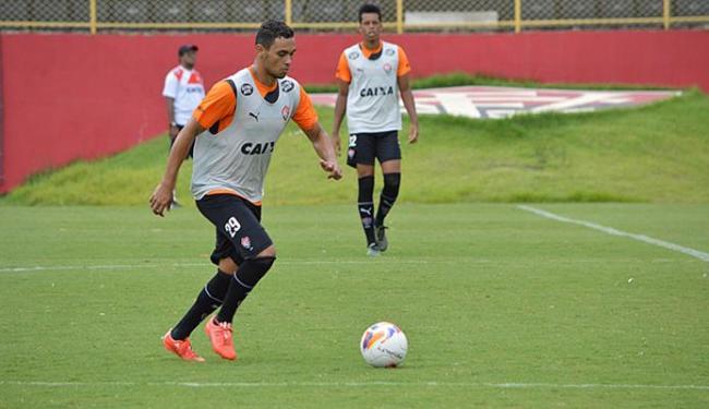 Bem nos treinos, Vinicius vai para sua segunda partida consecutiva como titular - Foto: Francisco Galvão l EC Vitória