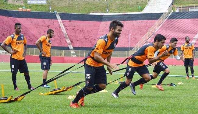 Escassez de partidas faz time treinar dobrado na Toca do Leão - Foto: Divulgação l EC Vitória