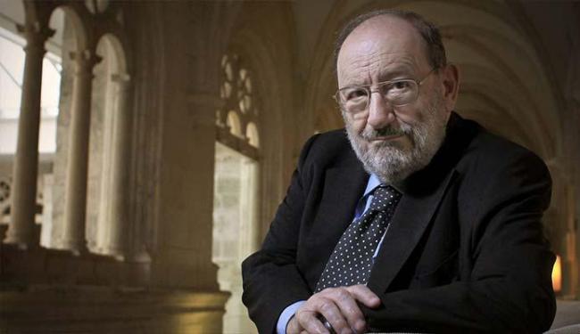 Escritor é autor de livros famosos como O Nome da Rosa - Foto: Divulgação