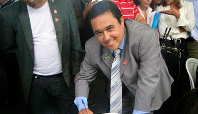 Prefeito Valter Andrade foi liberado pelos sequestradores horas depois e passa bem - Foto: Reprodução