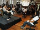 Jovens apresentam desafios e propostas durante encontro - Foto: Valter Pontes l Agecom