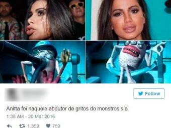 Os internautas criticaram o visual novo da cantora - Foto: Reprodução | Twitter