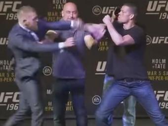 Os lutadores se enfrentarão neste sábado, 5, pelo UFC 196 - Foto: Reprodução