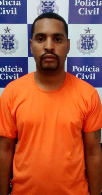 Elton Vinícius foi preso no sábado, 27, durante Operação 'BTS em Paz' - Foto: Divulgação | Polícia Civil