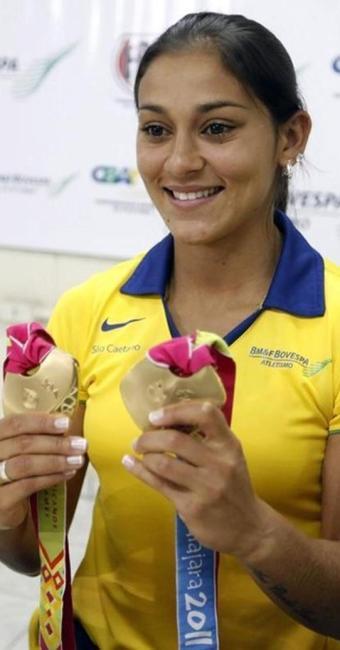 Ana Cláudia ainda não está suspensa pela Confederação Brasileira de Atletismo (CBAt) - Foto: Nacho Doce | Ag. Reuters