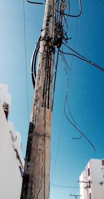 O equipamento está localizado na avenida Manoel Dias e se encontra em más-condições - Foto: Manoel Carreiro   Cidadão Repórter