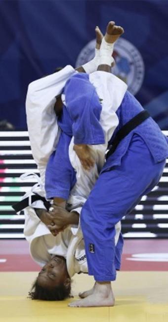 Rafaela Silva é uma das esperanças de medalha do Brasil nos Jogos do Rio - Foto: Divulgação   CBJ