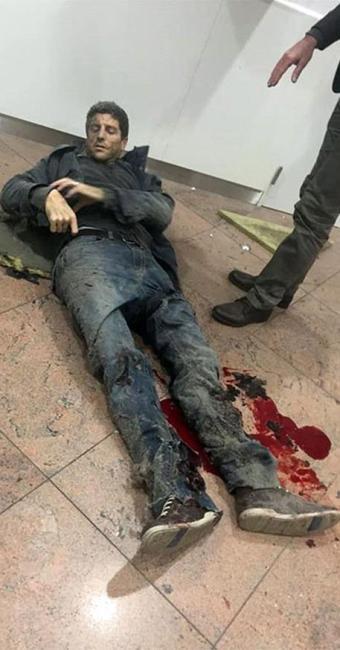 Sebastien Bellin ficou ferido em atentado na Bélgica - Foto: Ketevan Kardava l Georgian Public Broadcaster l Ap Photo