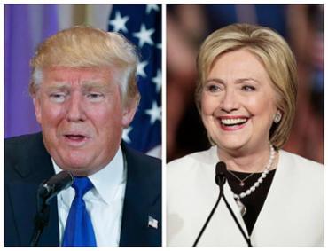 Donald Trump e Hillary Clinton - Foto: Scott Audette e Scott Audette l Reuters