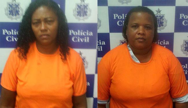 Gilmara e Rosilene estão no Presídio Feminino, no Complexo Penitenciário da Mata Escura - Foto: Divulgação   Polícia Civil