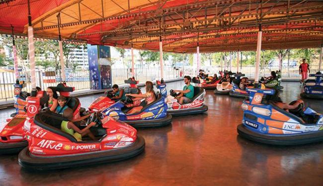 O disco car é uma das atrações do parque de diversão - Foto: Divulgação