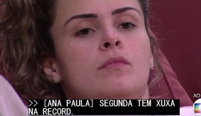 O caso repercutiu nas redes sociais e fez até Xuxa comentar o caso - Foto: Reprodução   TV Globo