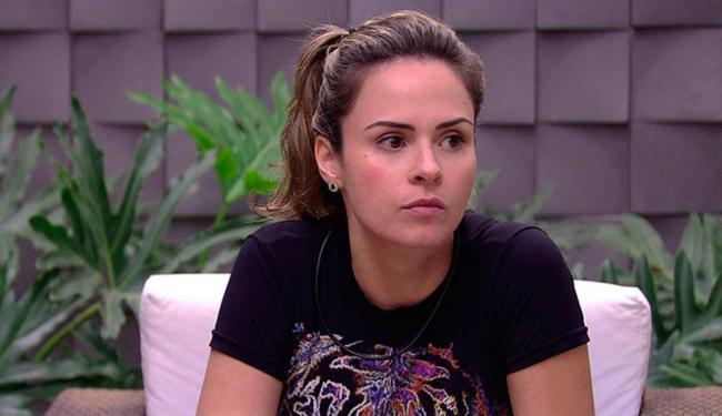 A sister foi eliminada após descumprir uma das regras do programa - Foto: Reprodução   TV Globo
