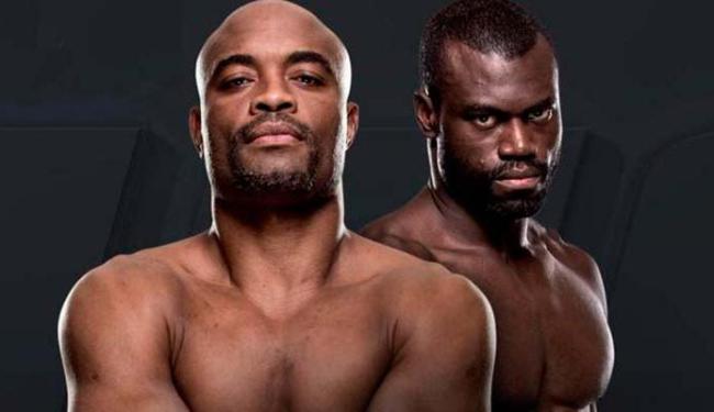 Anderson Silva vai enfrentar Uriah Hall - Foto: UFC | Divulgação