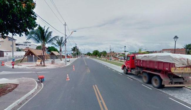 Tiroteio entre policias e suspeitos ocorreu em Arembepe - Foto: Reprodução   Google Street View