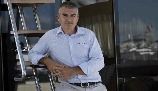 Davide Breviglieri, 49, é CEO da Azimut Yachts, maior fabricante de iates de alto luxo do mundo - Foto: Lúcio Távora | Ag. A TARDE