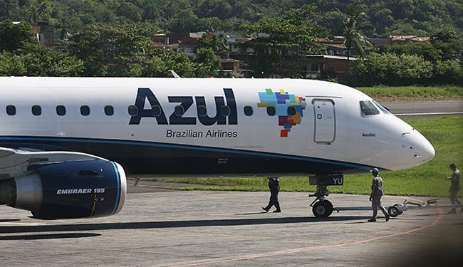 A nova ligação faz parte de uma expansão no Recife anunciada pela Azul no fim de janeiro - Foto: Joá Souza l Ag. A TARDE l 28.02.2013