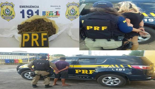 Na fiscalização, foi feita consulta das três pessoas no banco de dados da polícia e um era foragida - Foto: Divulgação