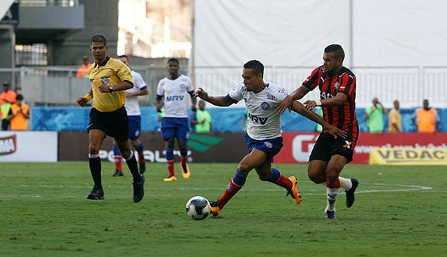 O campeão de média e lucro foi o Bahia, com forte contribuição por ter sido mandante no Ba-Vi - Foto: Margarida Neide | Ag. A TARDE