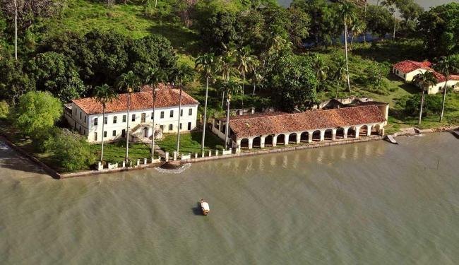Casarão na Ilha foi usado como locação da novela - Foto: Divulgação