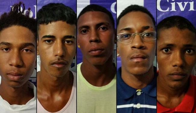Suspeitos foram presos no Condomínio Nossa Senhora das Candeias - Foto: Ascom   Polícia Civil