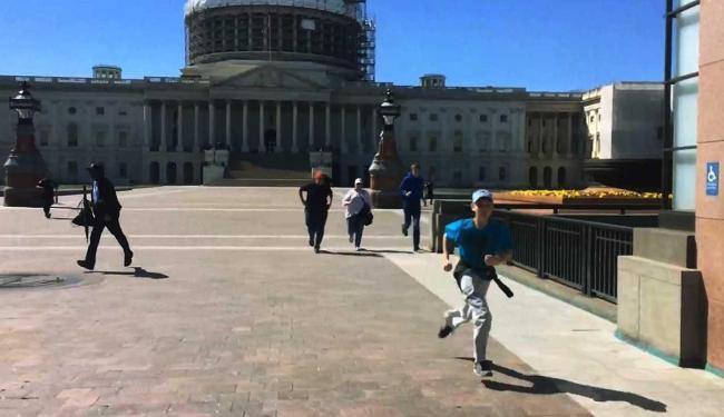 O caso ocorreu com o Congresso em recesso - Foto: WRC-TV   Reuters