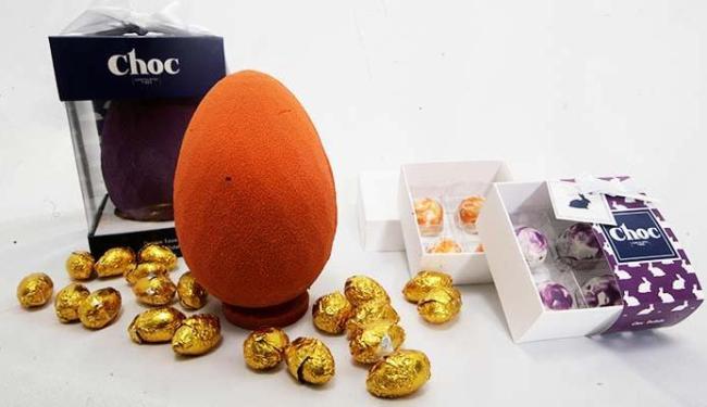 Nova no mercado, a Choc - Chocolates Finos traz produtos preparados com o próprio cacau - Foto: Adilton Venegeroles | Ag. A TARDE