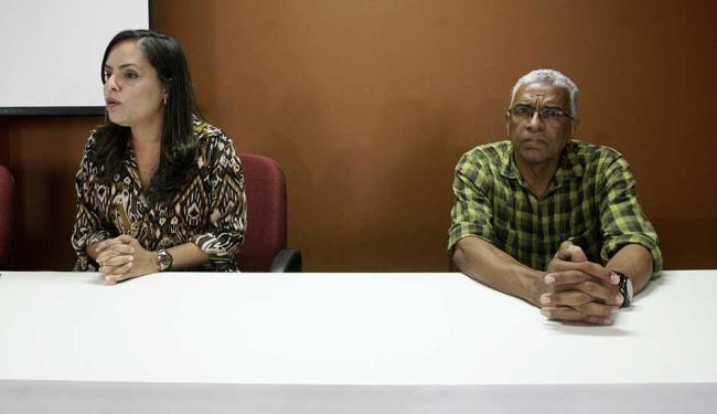 Edriene Teixeira, médica perita e diretora da ANMP, e Francisco Magalhães, presidente do Sindimed - Foto: Adilton Venegeroles | Ag. A TARDE
