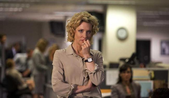 Cate Blanchett vive a produtora de televisão Mary Mapes - Foto: Reprodução
