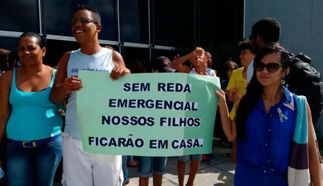 Manifestantes pedem cumprimento de direitos das pessoas com deficiência - Foto: Edilson Lima   Ag. A TARDE