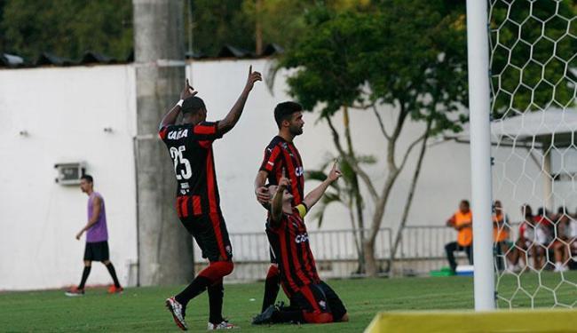 Diego Renan comemora o segundo gol - Foto: Margarida Neide   Ag. A TARDE