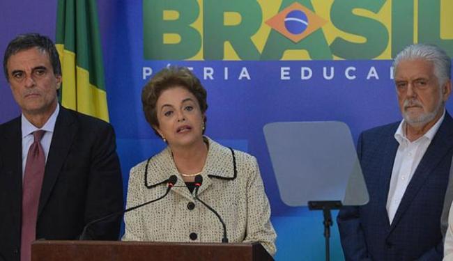 A presidenta contestou as informações sobre o que teria dito o parlamentar nos depoimentos - Foto: Valter Campanato l Agência Brasil
