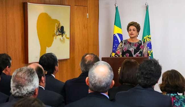 A petista voltou a negar veementemente que irá renunciar ao cargo - Foto: Roberto Stuckert Filho | PR