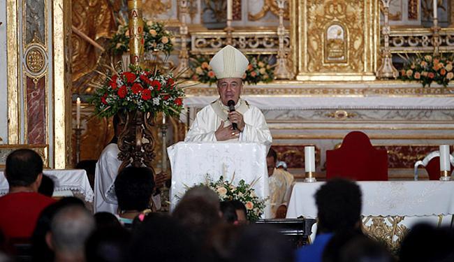 D. Murilo falou sobre a importância de relembrar os motivos pelos quais se celebra a paixão de Crist - Foto: Adilton Venegeroles | Ag. A TARDE
