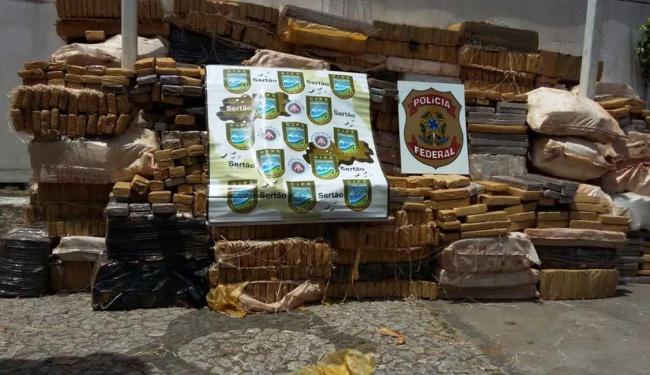Segundo a polícia, a droga veio do estado de São Paulo - Foto: DCS | Polícia Militar