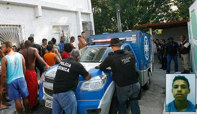 Equipes do DPT resgataram o corpo de Erik do Nascimento na tarde desta quarta-feira, 9 - Foto: Margarida Neide l Ag. A TARDE