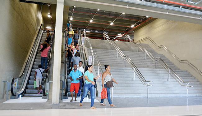 Escadas rolantes voltam a funcionar com normalidade - Foto: Jefferson Peixoto l Agecom