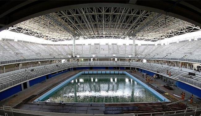 Estádio Aquático Olímpico será a casa dos maiores nadadores do mundo em agosto - Foto: Divulgação l CBDA