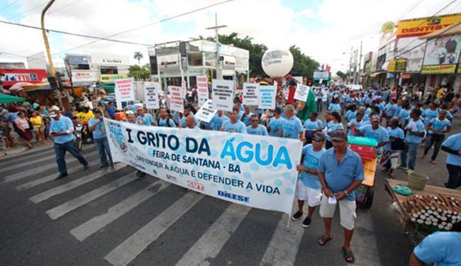 Em Feira de Santana, o ato ocorreu na segunda-feira, 21 - Foto: Divulgação | Sindae