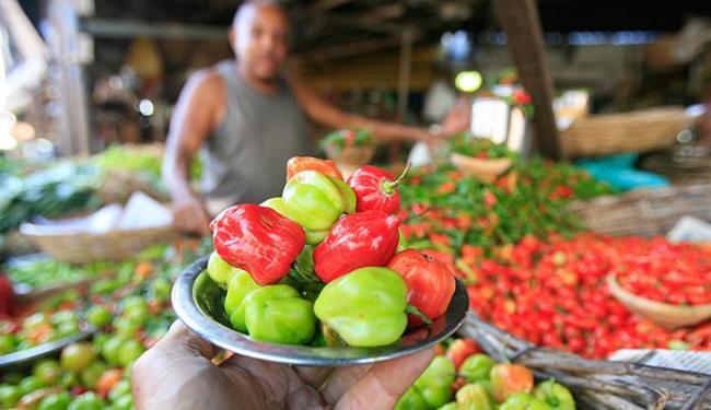Alimentos coloridos são um incentivo para os artistas que participarão da festa - Foto: Fernando Amorim l Ag. A TARDE l 22.09.2015